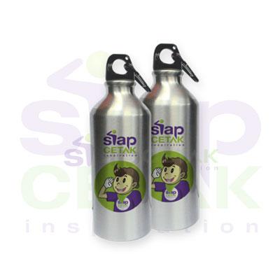 Botol Sport Silver siapcetak