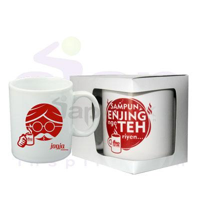 Mug Standar Full Color + Dos siapcetak