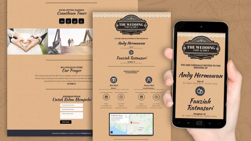 Rekomendasi Desain Distributor Undangan Khitanan Jogja Pilihan Favorit