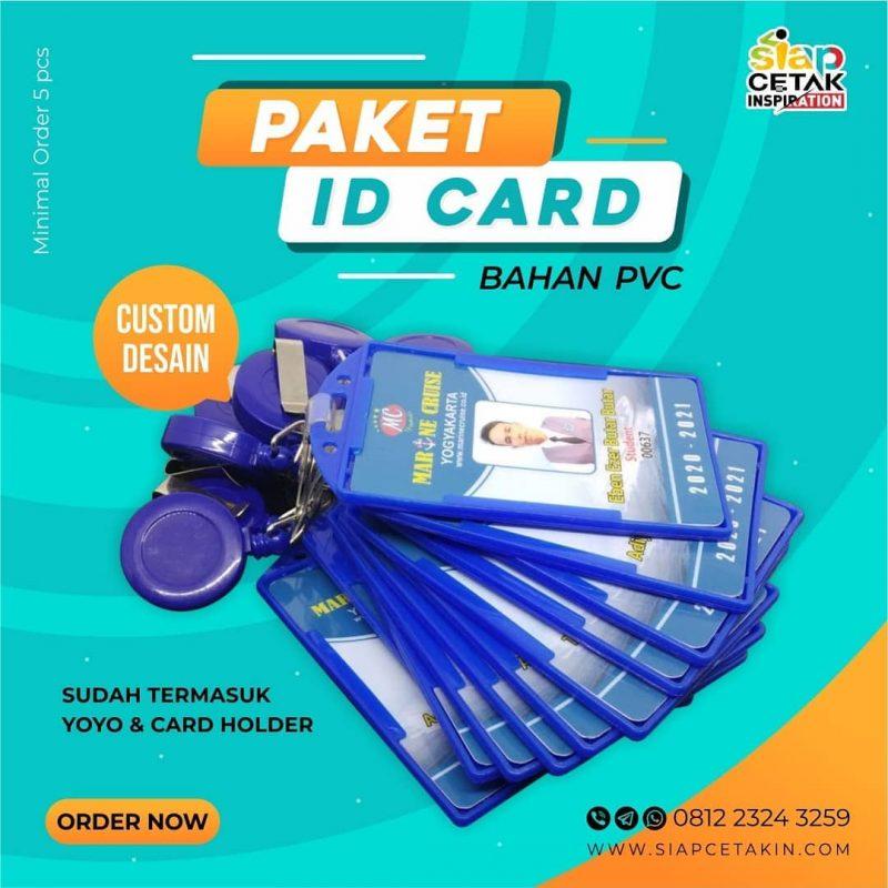 Bingung Nyari Tempat Cetak ID Card Terdekat? Di Sini Saja