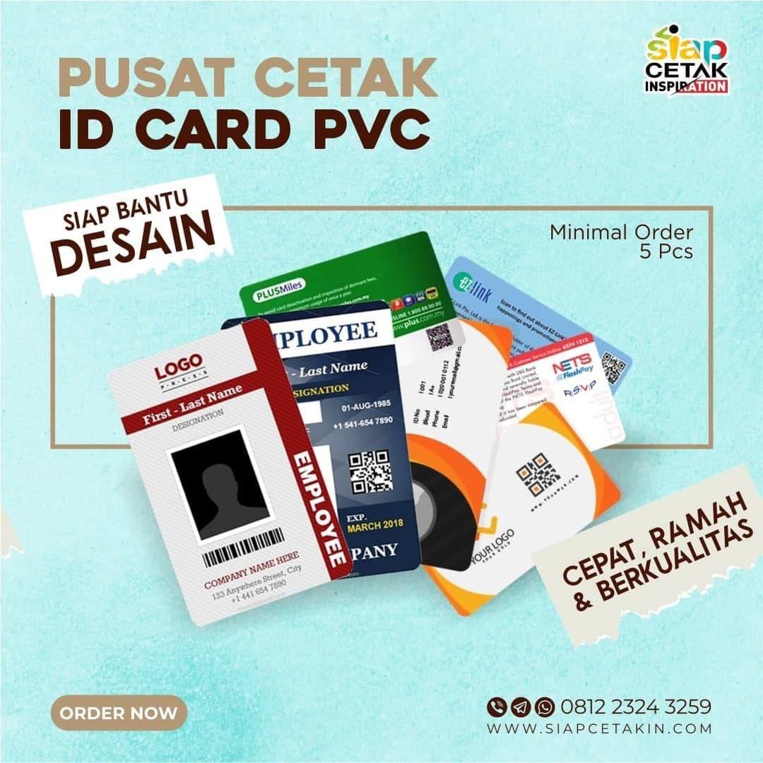 Jasa Cetak ID Card Satuan Terpercaya dan Berkualitas, Hanya Disini!